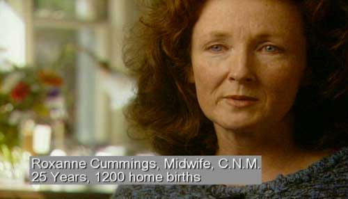 Roxanne Cummings, Midwife, C.N.M., 25 Years, 1200 home births